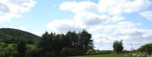 View of Raven's Rest campsite