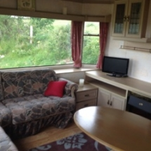 Lounge area in 2 bed mobile home