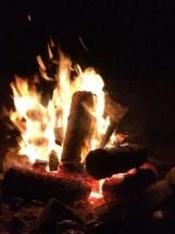 Campfire at Ravens Rest